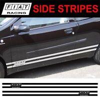 Fiat Punto Brava Bravo Stilo Uno Seitenstreifen Aufkleber Sticker Grafiken