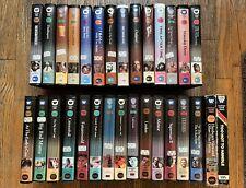 LOT ORIGINAL SCI-FI CULT FANTASY WARNER HOME VIDEO CLAMSHELLS - 14 BETA & 16 VHS