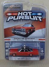 Greenlight 1:64 - 1974 Dodge Monaco - Chicago Fire Chief - Hot Pursuit Series 13