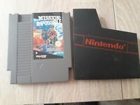Nintendo nes rare jeu Mission impossible avec boite