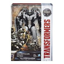 TRANSFORMERS MV5 THE LAST KNIGHT VOYAGER DECEPTICON NITRO PREMIER EDITION FIGURE