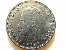 1984 Spanish Twenty Five (25) Pesetas Coin