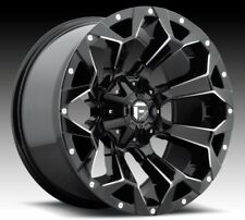Fuel Assault D576 20x9 8x6.5 ET20 Black Rims (Set of 4)