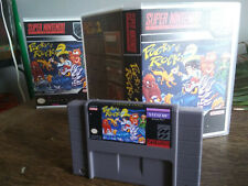 Pocky and Rocky 2 for SNES brand new with custom case