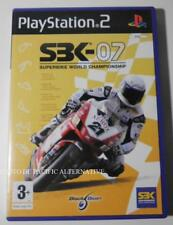COMPLET jeu SBK 07 superbike 2007 playstation 2 PS2 en francais course de moto