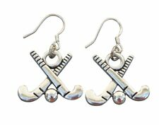 Field Hockey Earrings- Field Hockey Jewelry - Girl Field Hockey Players Gift