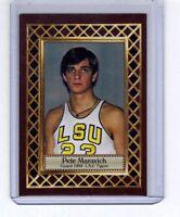 Pete Maravich '69 LSU Tigers, Fan Club serial numbered #/300