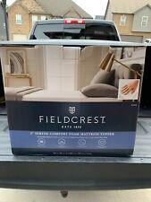 "Fieldcrest King 3"" Serene Comfort Foam Mattress Topper"