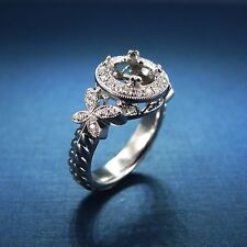 - Engagement Ring - Right Hand Ring Gabriel & Co 14K White Gold Yw-Er4348D4
