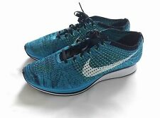 Nike Flyknit Racer Running Shoe 526628-402 Men Size 13
