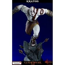 God of War Ascension: Lunging Kratos Statue Gaming Heads NEUVE NEW