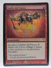 Sigillo del Fuoco - Seal of Fire - DIS - Discordia - FOIL - EXC ITA - MTG