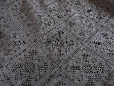 Black Cluny Lace Cotton Fabric Festival Dress Haute Couture Vogue Trench Coat