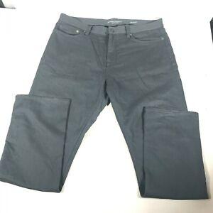 Banana Republic The Traveler Slim Pants Jeans Mens Sz 36 x 32 Gray