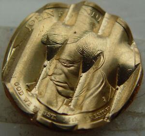 2015 John F. Kennedy Waffled Dollar from US Mint