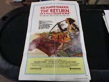 One Sheet Movie Poster The Return Of A Man Called Horse 1976  Richard Harris