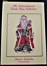 International Santa Claus Collection Ornament ~ Saint Nicholas Czechoslovakia