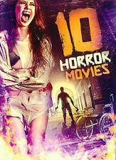 10-Film Horror Pack, Vol. 12 (DVD, 2014, 2-Disc Set) Fast Free Shipping!!!