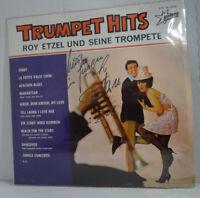 """ROY ETZEL - Trumpet Hits > 12"""" Vinyl LP , mit Autogramm"""
