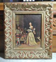 "Vintage Resin Ornate Wall  Frame 11-1/4"" by 9-5/8"""