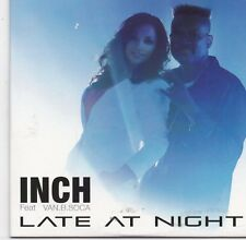 INCH-Late At Night Promo cd single