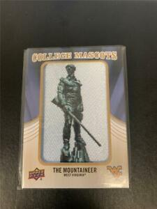 2013 SP Authentic College Mascots West Virginia The Mountaineer Card