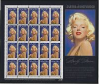 US MNH Stamps - Scott # 2967 - Marilyn Monroe Legends of Hollywood Sheet     (M)