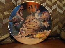 Star Wars  Hamilton Collection Jabba The Hutt Plate not statue bust maquette