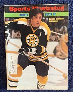11.19.1973 PHIL ESPOSITO Sports Illustrated BOSTON BRUINS Vintage Ads