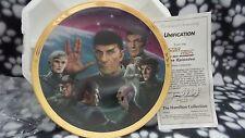 Star Trek Plate  Unification