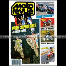 MOTO REVUE N°2825 YAMAHA 125 DTR SUZUKI DR 750 DERBI JORGE MARTINEZ DAKAR 1988