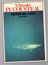 misteri del mare - - - jacques-yves cousteau -edizione longanesi 1980