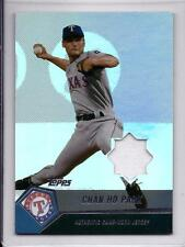 CHAN HO PARK 2004 Topps Game Used JERSEY Swatch FOIL  SP #CP TEXAS RANGERS