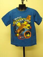 NEW LEGO CITY KID KIDS  SIZE 4  graphic T-SHIRT