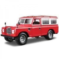 Red Die-Cast Land Rover 110 Series 2 - 1:24 Scale Model