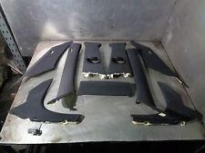 BMW E60 E61 2004-2010 530 D LCi M Sport Intérieur Noir Upper PILIER TRIM Set LCI3
