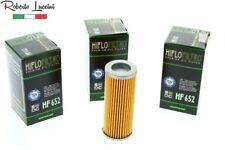 3x Ölfilter HIFLO HF652