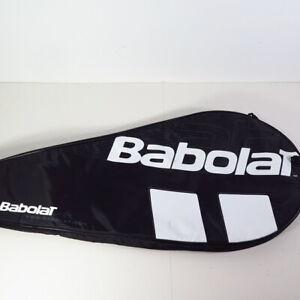 Babolat Black/White Tennis Racquet shoulder carry padded bag full case cover
