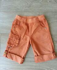 Bermuda orange VERTBAUDE 6-7 ans, tbe!