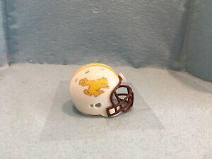 Custom Pocket Pro helmet.  FBS      Wyoming       Mt. West Conference