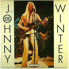 """12"""" LP - Johnny Winter - Livin' In The Blues - A3640 - RAR - washed & cleaned"""