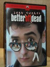 Better Off Dead Dvd Widescreen John Cusack Usa Region 1 Dvd Like New