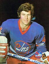 1975 Winnipeg Jets Home vs Cleveland Crusaders WHA World Hockey Assn Program