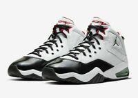 NIKE MEN'S AIR JORDAN B'LOYAL BASKETBALL SHOES CW7008-100 WHITE RED BLACK GREEN