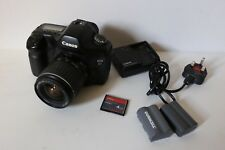 Canon EOS 5D 12.8MP Digital SLR Camera With 28-90 ef Lens & Two Batteries
