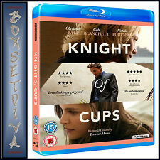 KNIGHT OF CUPS -   Christian Bale & Cate Blanchett **BRAND NEW BLURAY**