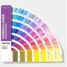 NEW- Nuancier Pantone Formula Guide Solid Uncoated