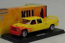 1997 Custom C-2500 crew cab Movie Kill Bill Vol. 1 2003 1:43 Greenlight