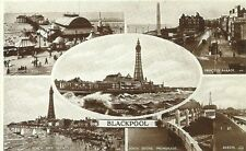 Blackpool Printed Collectable English Postcards