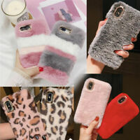 Soft Warm Plush Fluffy Phone CaseCoverComfy Faux Fur For iPhone 11/Pro/Max Model